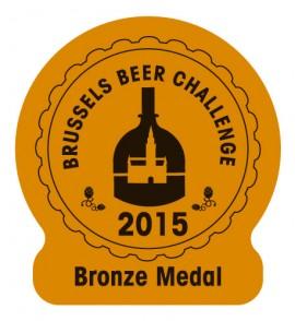 Voreia Stout Bronze Medal 'Brussels Beer Challenge'